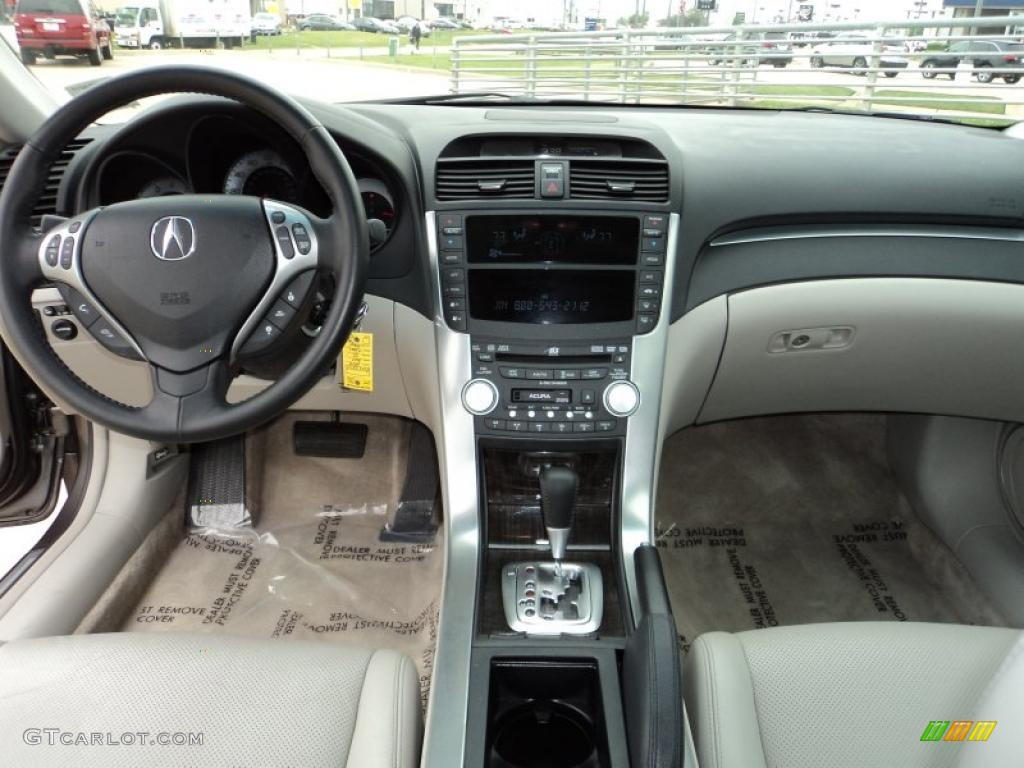 2008 acura tl 3 2 taupe dashboard photo 47299406. Black Bedroom Furniture Sets. Home Design Ideas