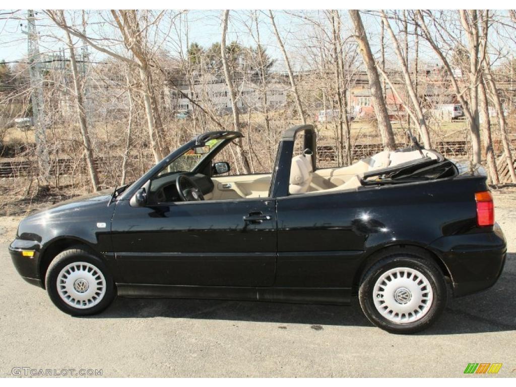 Black 2001 volkswagen cabrio gls exterior photo 47299433