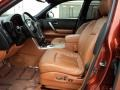 Brick/Black Interior Photo for 2007 Infiniti FX #47300006