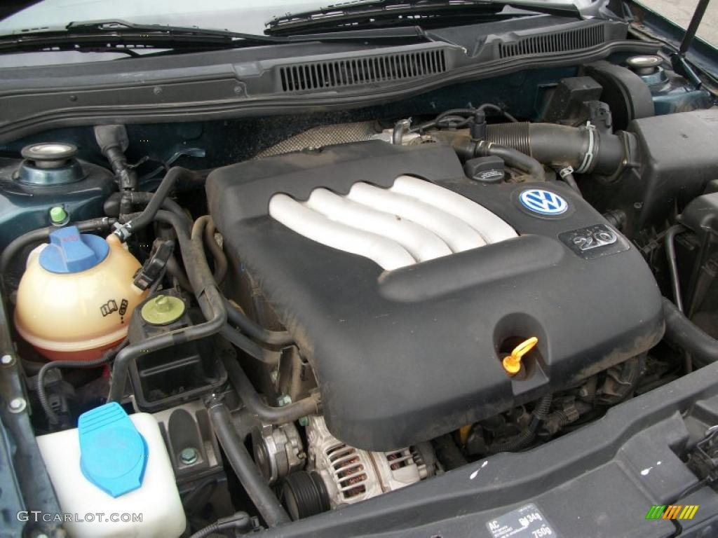 2002 Volkswagen Jetta Gl Sedan Engine Photos
