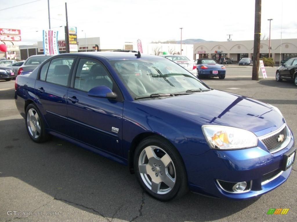 2006 dark blue metallic chevrolet malibu ss sedan. Black Bedroom Furniture Sets. Home Design Ideas