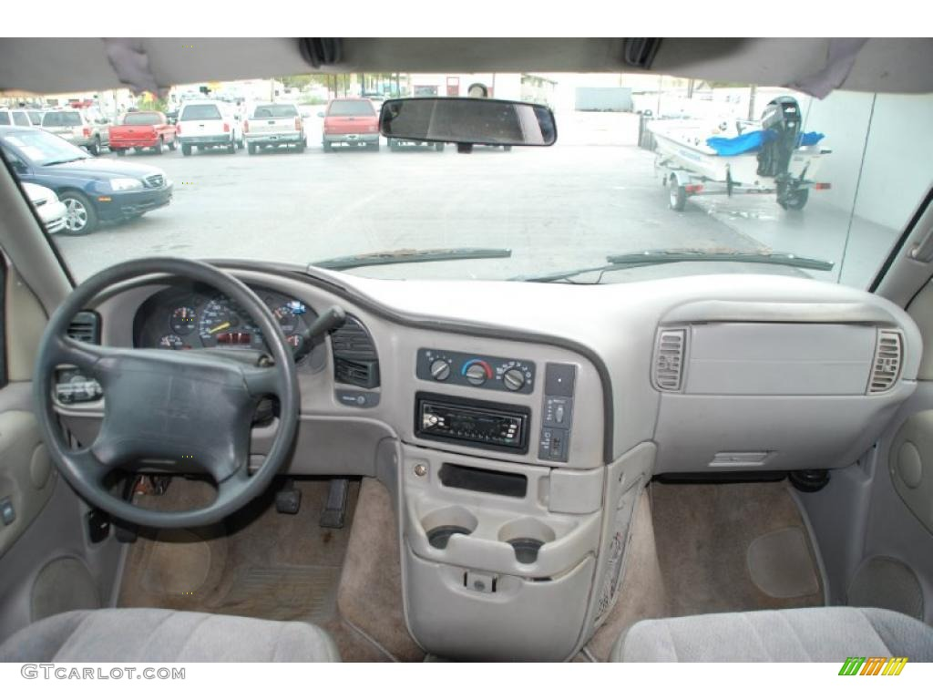 1997 Gmc Safari Slt Gray Dashboard Photo 47302556