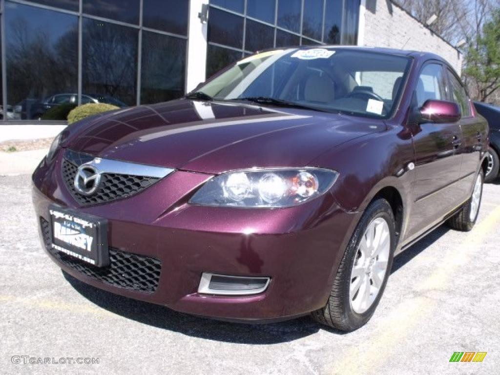 2008 Phantom Purple Mica Mazda Mazda3 I Sport Sedan