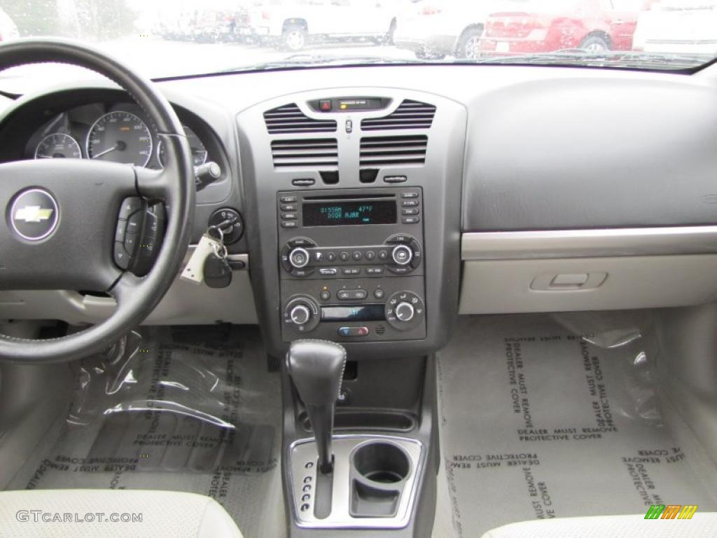 2007 Chevrolet Malibu LTZ Sedan Titanium Gray Dashboard Photo ...
