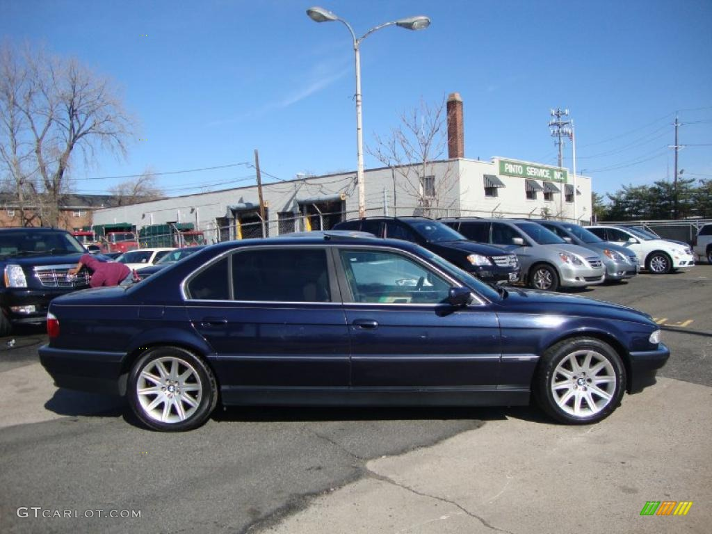 midnight blue 2000 bmw 7 series 740il sedan exterior photo 47310533. Black Bedroom Furniture Sets. Home Design Ideas