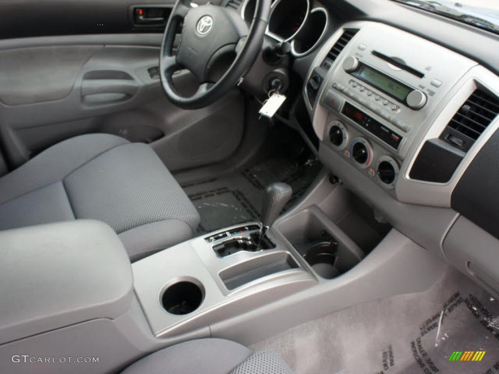 Graphite Gray Interior 2008 Toyota Tacoma V6 TRD Sport ...
