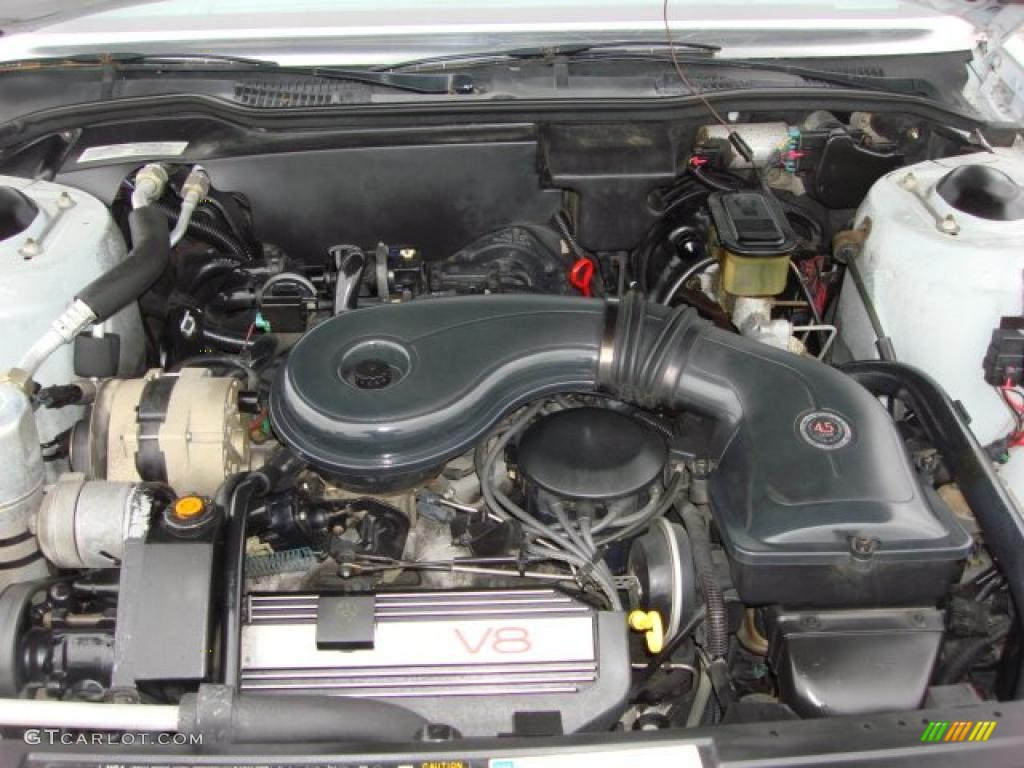 1989 Cadillac DeVille Sedan 4.5 Liter OHV 16-Valve V8 Engine Photo #47323062