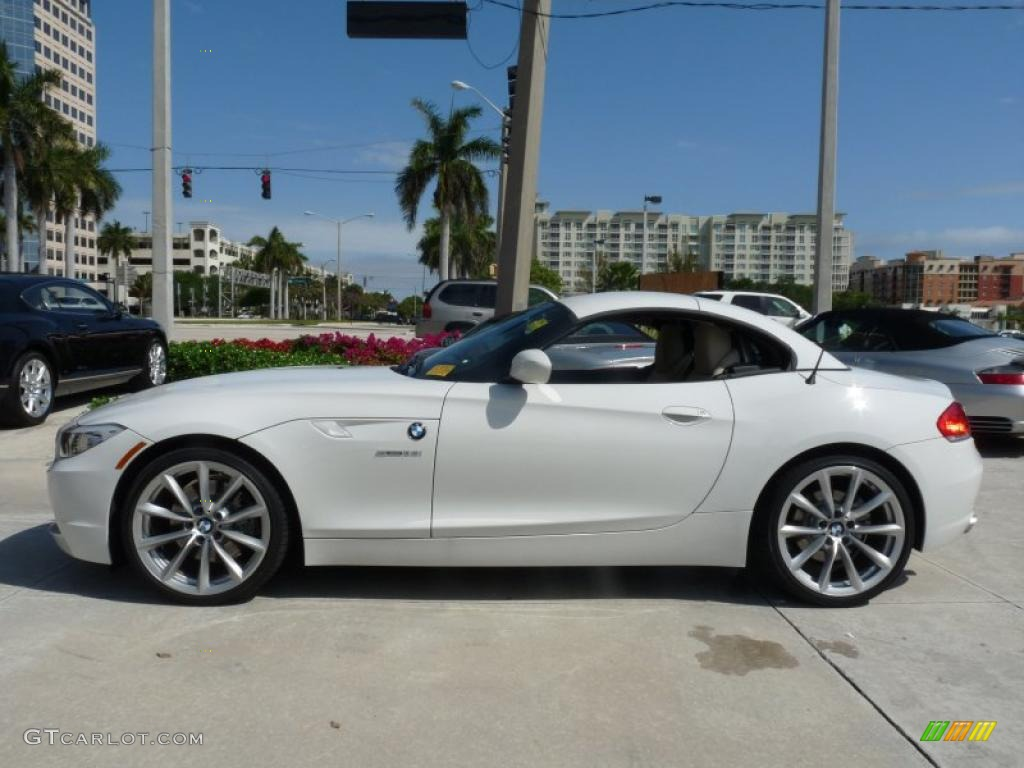 Alpine White 2011 Bmw Z4 Sdrive35i Roadster Exterior Photo