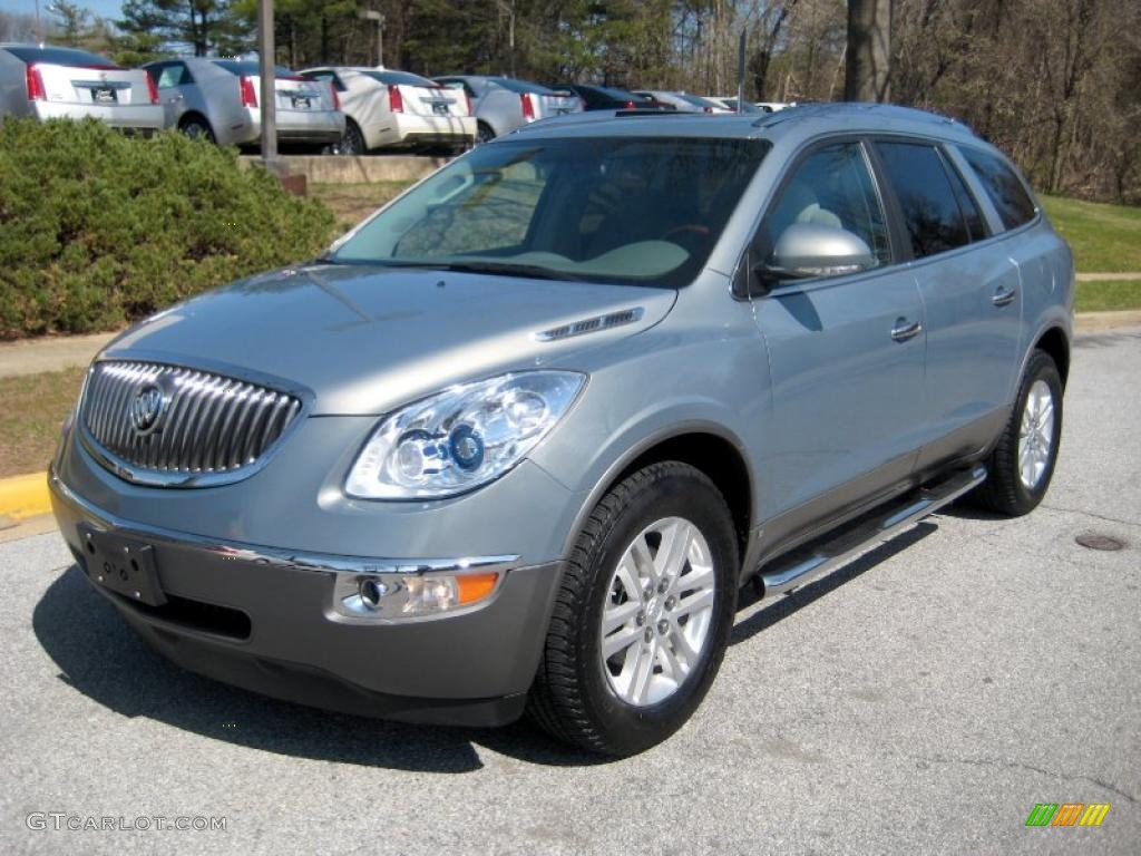 Blue Gold Crystal Metallic 2008 Buick Enclave CX AWD Exterior Photo #47334745