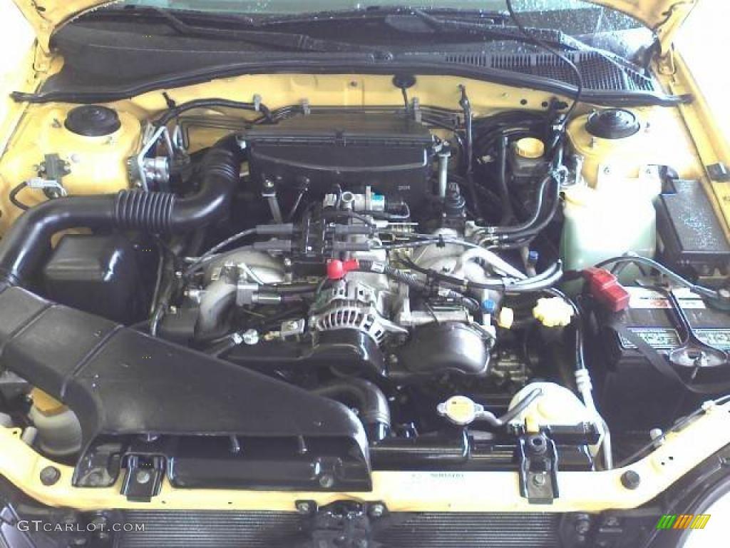 2003 Subaru Baja Standard Baja Model Engine Photos   GTCarLot.com