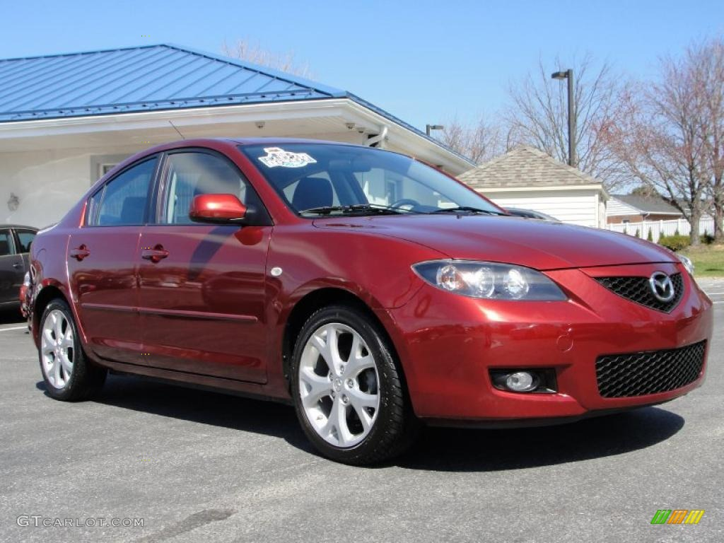 2008 mazda 3 red images galleries with a bite. Black Bedroom Furniture Sets. Home Design Ideas