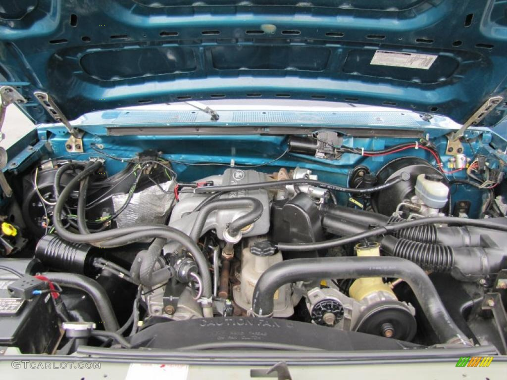 1991 Ford F250 Regular Cab 4x4 7 5 Liter Ohv 16 Valve V8