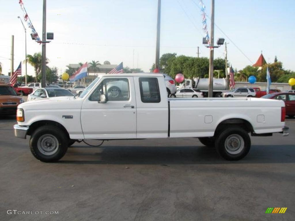 1997 Oxford White Ford F250 Xl Extended Cab 47292658 Photo