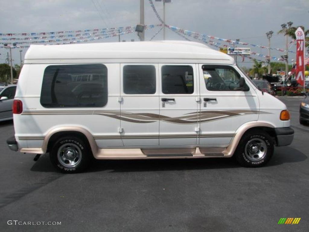 bright white 2002 dodge ram van 1500 passenger conversion exterior photo 47343983. Black Bedroom Furniture Sets. Home Design Ideas