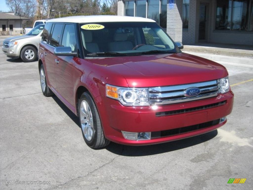 2009 redfire metallic ford flex limited awd 47292251. Black Bedroom Furniture Sets. Home Design Ideas