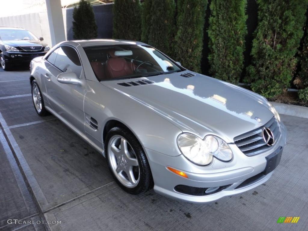 Brilliant silver metallic 2003 mercedes benz sl 500 for Mercedes benz sl 500 2003