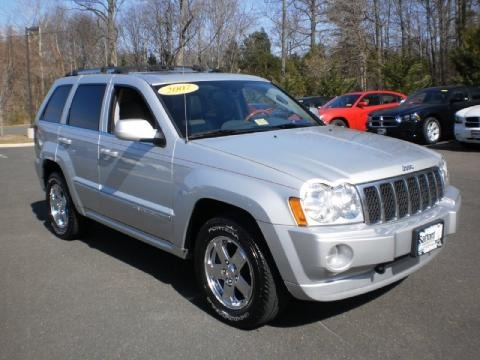 2007 jeep grand cherokee overland 4x4 data info and specs. Black Bedroom Furniture Sets. Home Design Ideas