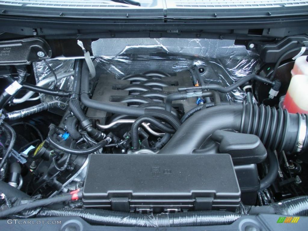 2011 ford f150 fx4 supercab 4x4 5 0 liter flex fuel dohc for Motor ford f150 v8