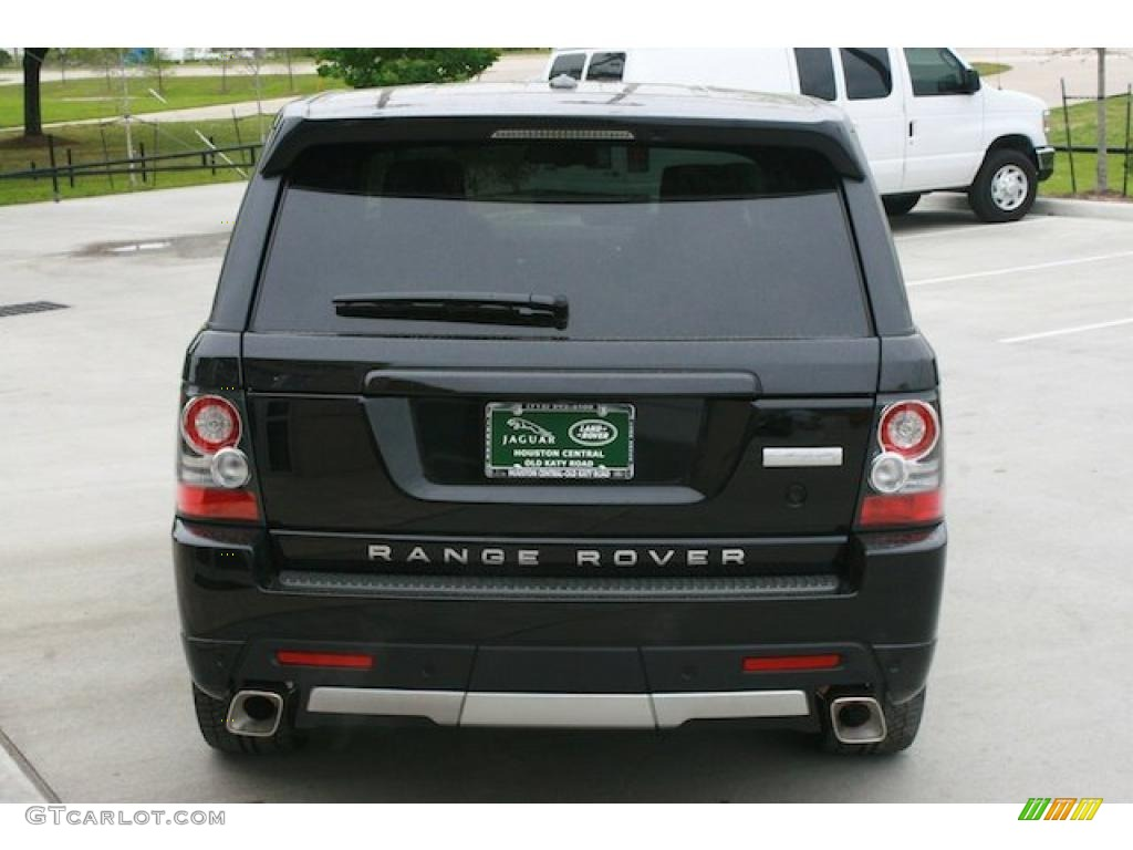 2011 santorini black metallic land rover range rover sport. Black Bedroom Furniture Sets. Home Design Ideas