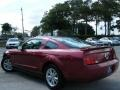 2007 Redfire Metallic Ford Mustang V6 Deluxe Coupe  photo #11