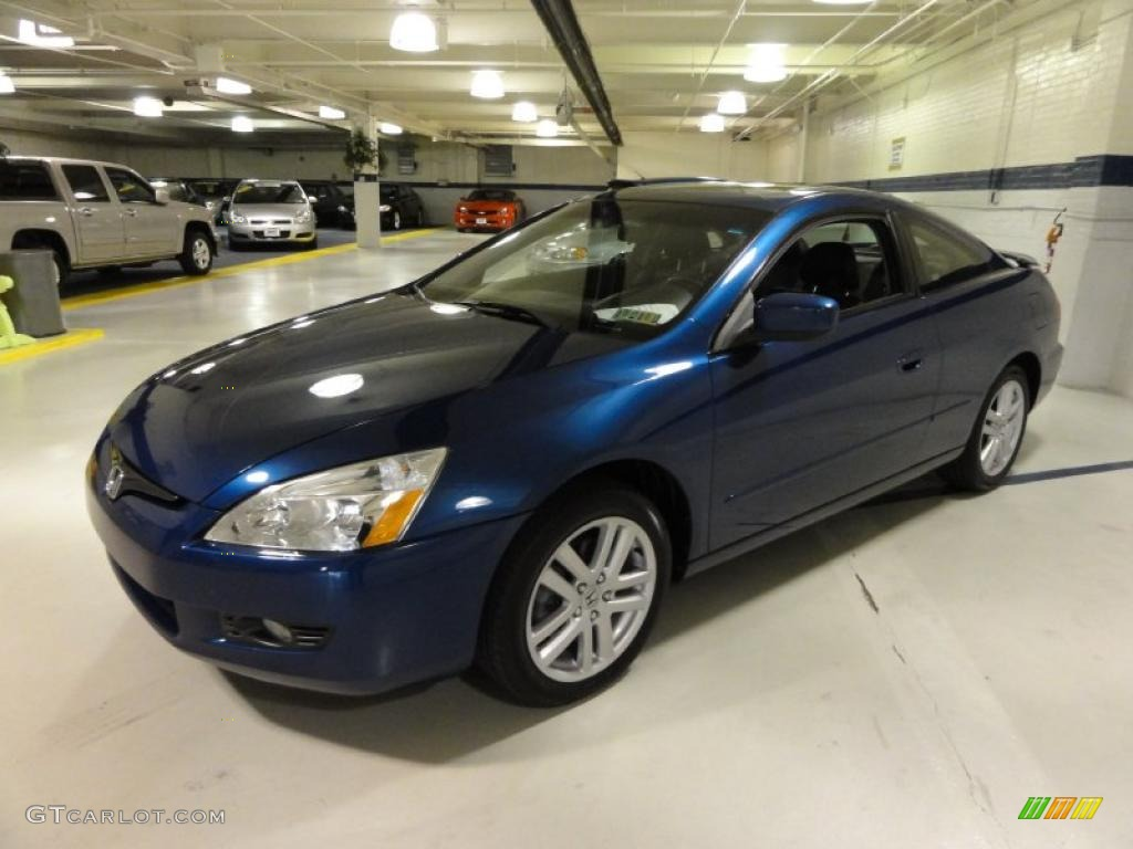 sapphire blue pearl 2004 honda accord ex v6 coupe exterior. Black Bedroom Furniture Sets. Home Design Ideas