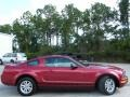 2007 Redfire Metallic Ford Mustang V6 Deluxe Coupe  photo #14