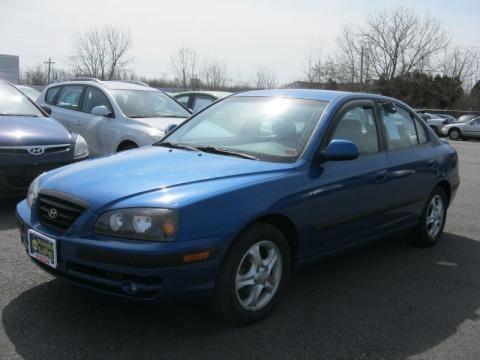 Hyundai Elantra 2005 Blue. Tidal Wave Blue middot; 2005