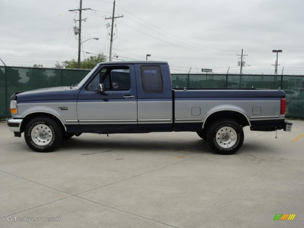 1995 medium lapis metallic ford f150 xlt extended cab 47350783 photo 6 car. Black Bedroom Furniture Sets. Home Design Ideas