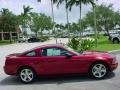 2007 Redfire Metallic Ford Mustang V6 Deluxe Coupe  photo #2