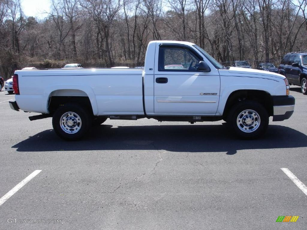 2004 summit white chevrolet silverado 2500hd ls regular cab 4x4 47350492 photo 7 gtcarlot. Black Bedroom Furniture Sets. Home Design Ideas