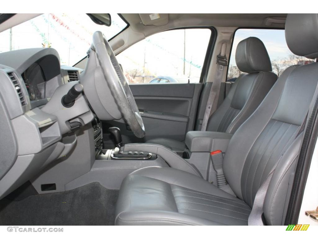 Medium Slate Gray Interior 2005 Jeep Grand Cherokee Laredo