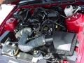 2007 Redfire Metallic Ford Mustang V6 Deluxe Coupe  photo #13