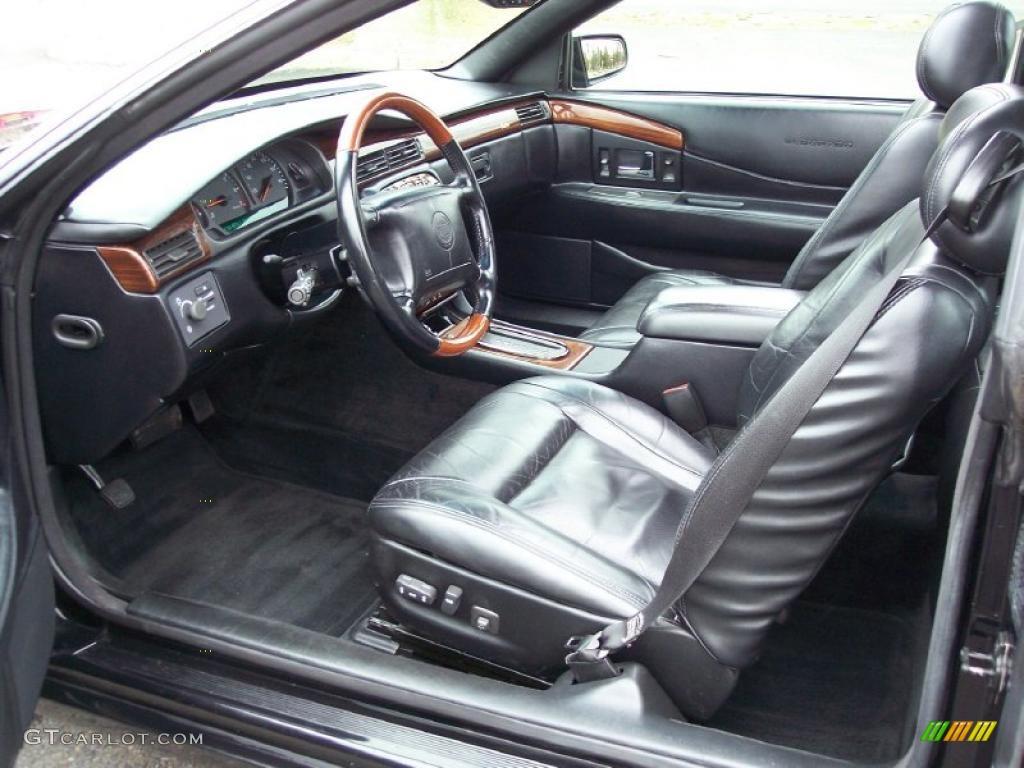 Black Interior 2001 Cadillac Eldorado Etc Photo 47373623