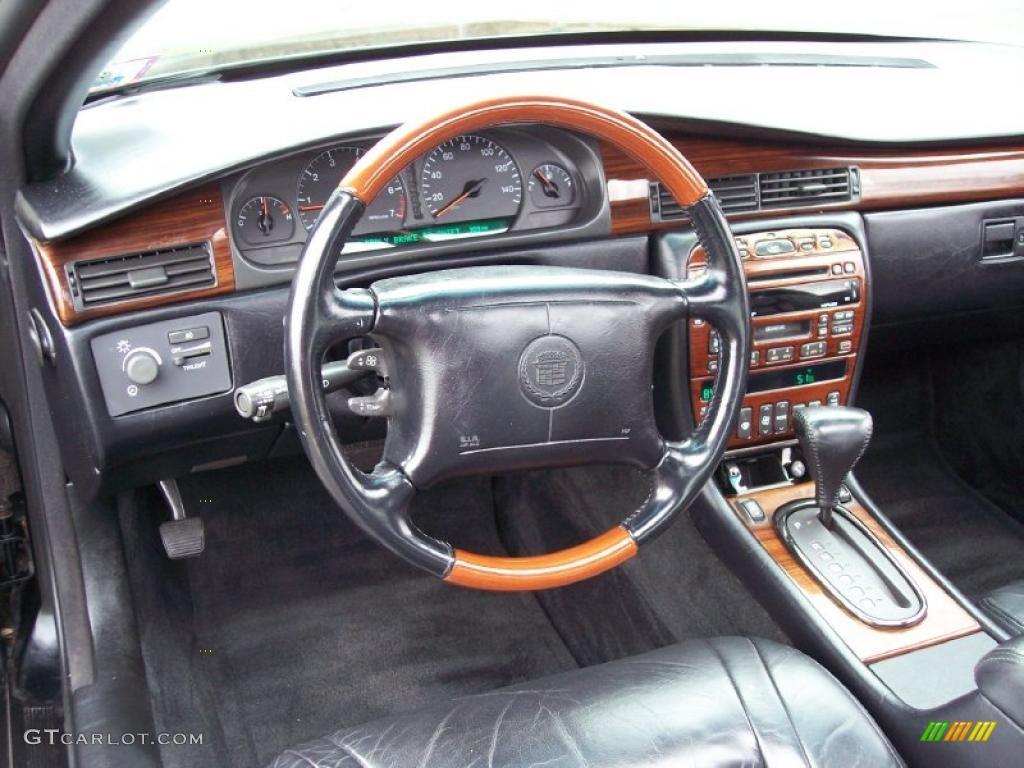 2001 Cadillac Eldorado Etc Black Dashboard Photo 47373674