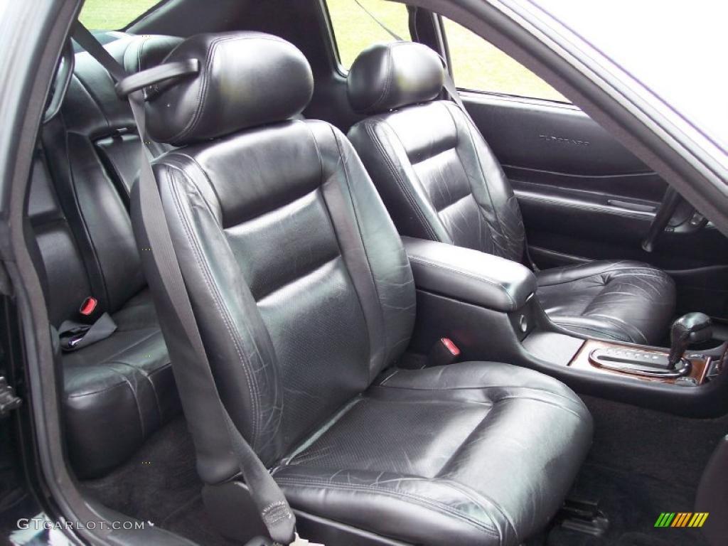 Black Interior 2001 Cadillac Eldorado Etc Photo 47373704
