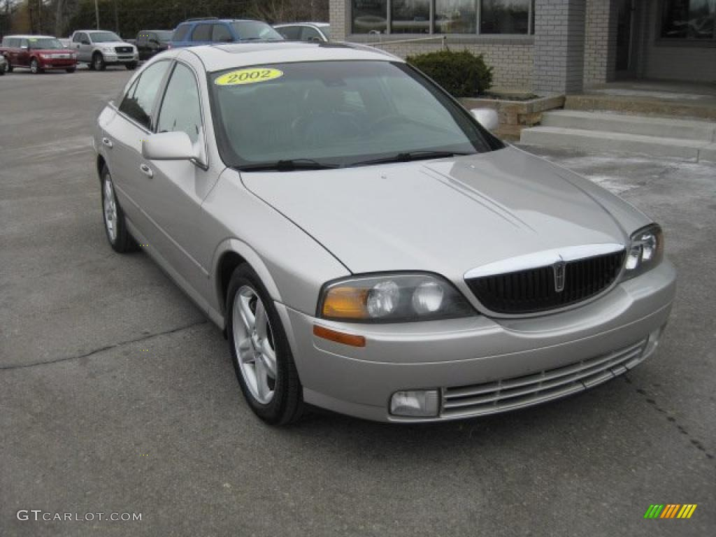 on 2002 Lincoln Ls V8 Red Picture