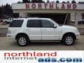 White Platinum Tri-Coat Metallic 2010 Mercury Mountaineer V6 AWD