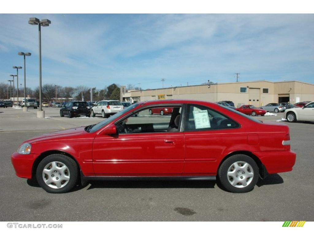 roma red 1999 honda civic ex coupe exterior photo. Black Bedroom Furniture Sets. Home Design Ideas