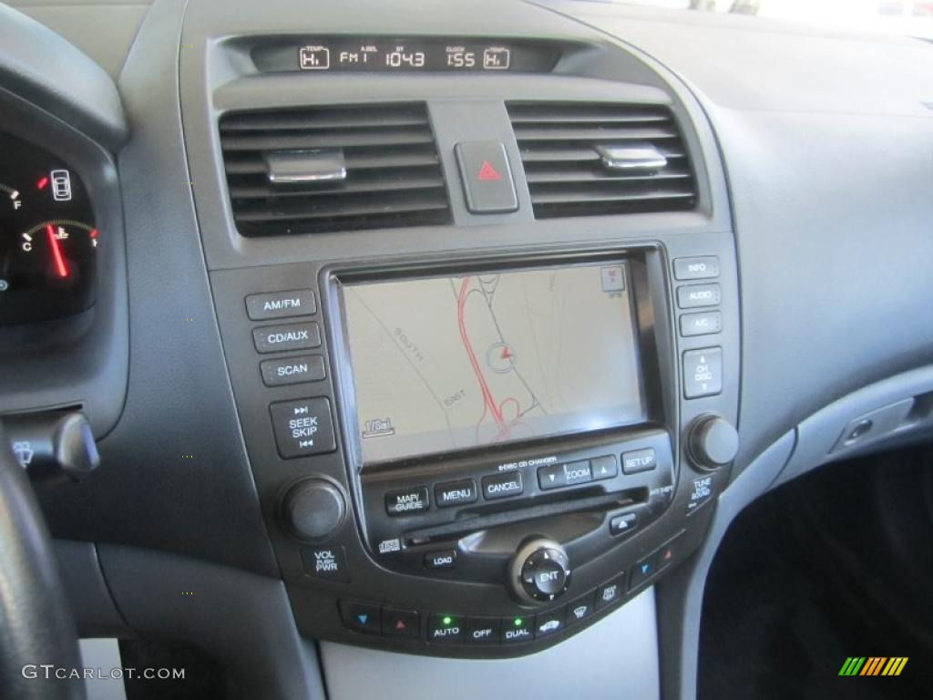 Navigation on 1997 honda accord specs