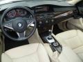 Cream Beige Dakota Leather 2008 BMW 5 Series Interiors