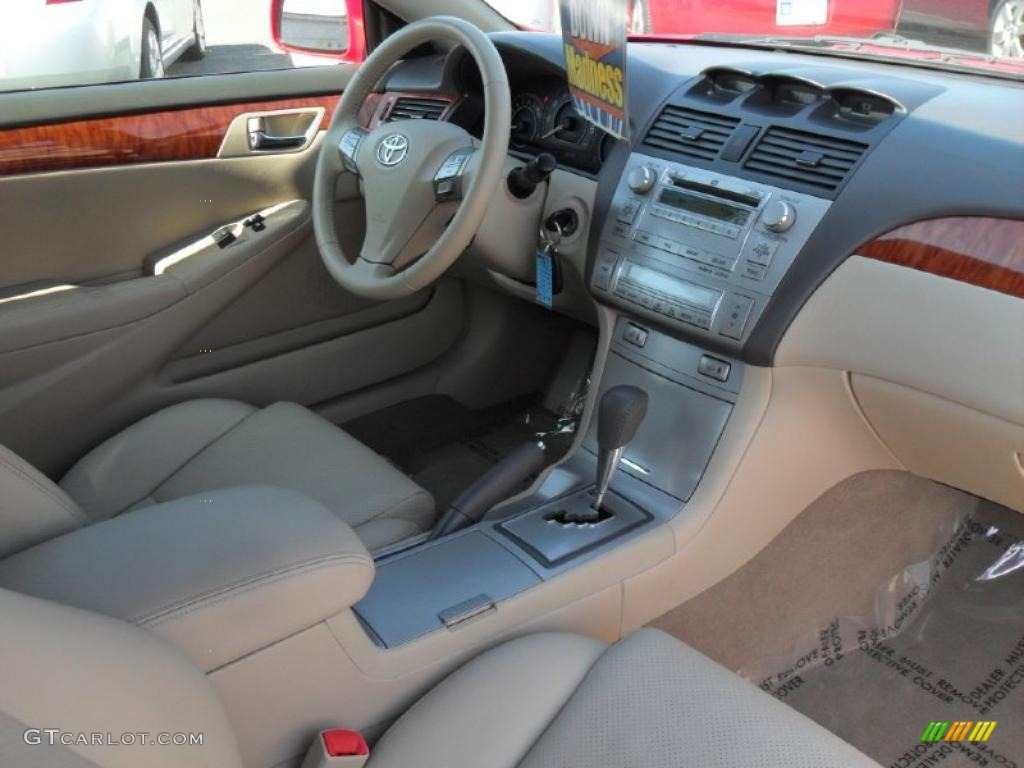 2007 Toyota Solara Sle V6 Convertible Interior Photo