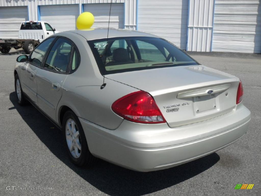 Gold ash metallic 2007 ford taurus sel exterior photo 47394359