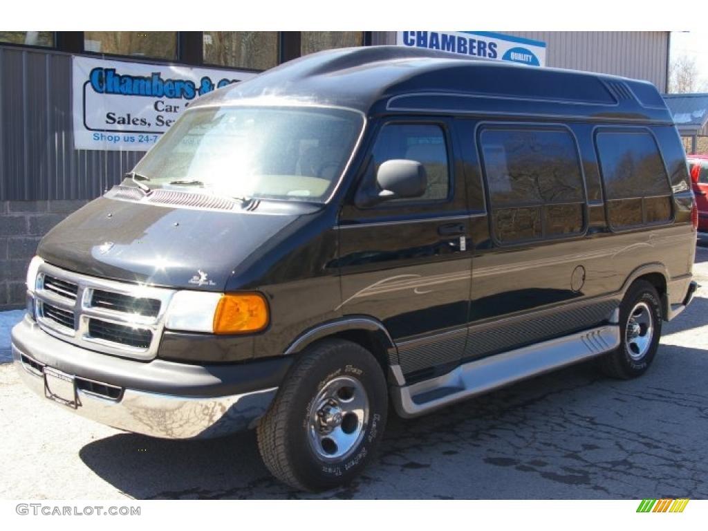 2003 black dodge ram van 1500 passenger conversion 47350745 car color galleries. Black Bedroom Furniture Sets. Home Design Ideas
