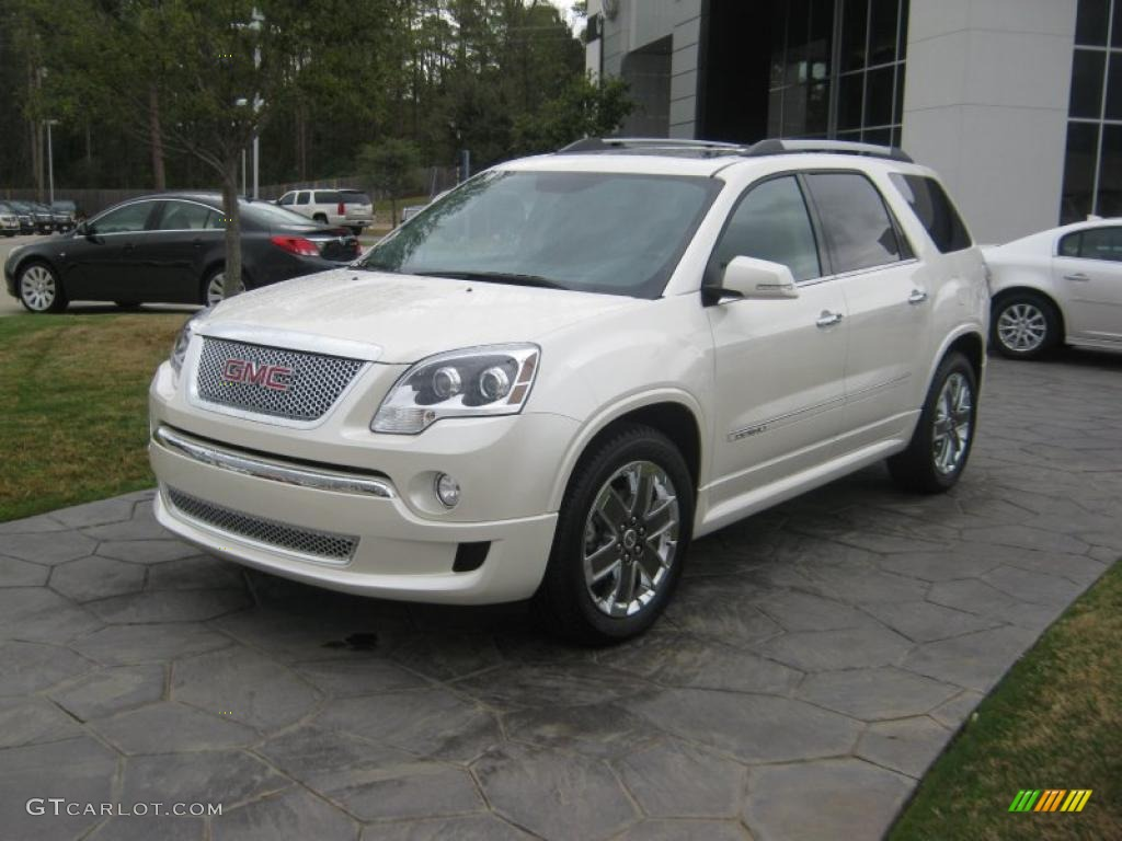 2011 white diamond tintcoat gmc acadia denali 47350916 car color galleries. Black Bedroom Furniture Sets. Home Design Ideas