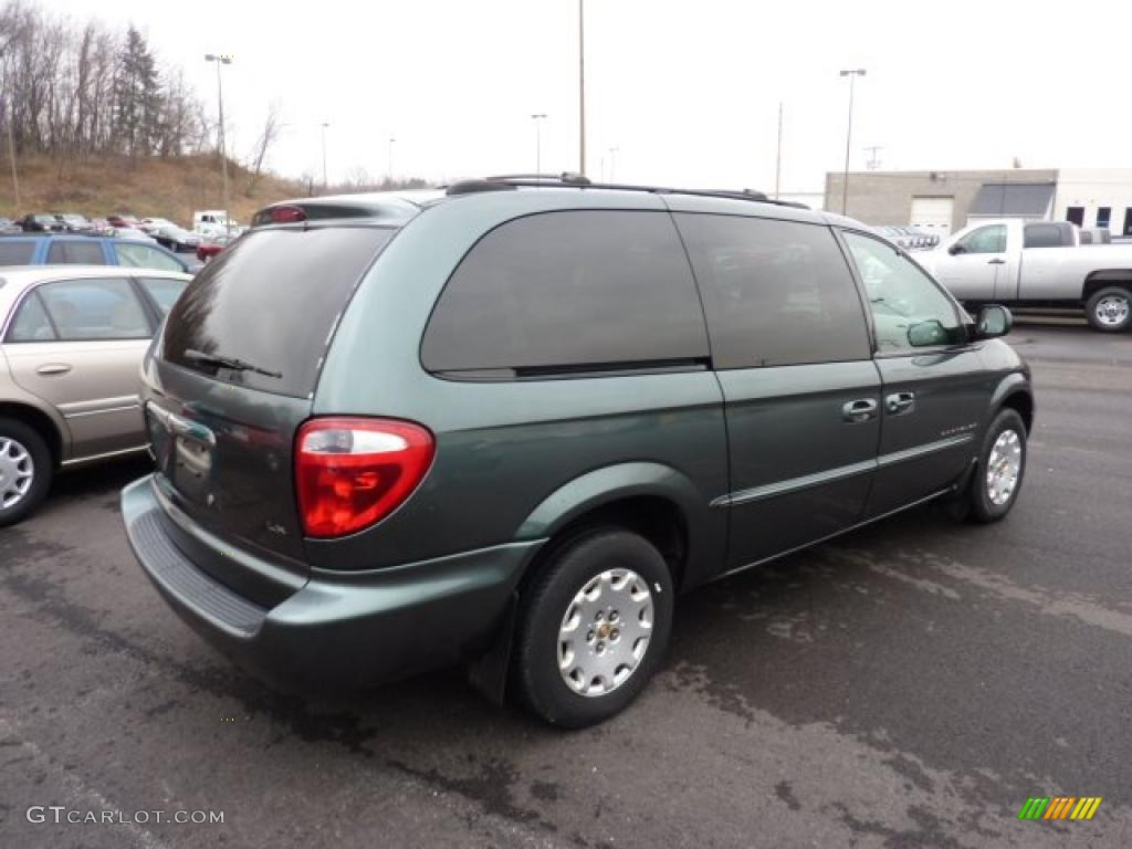 Shale green metallic 2001 chrysler town country lx - 2001 chrysler town and country interior ...