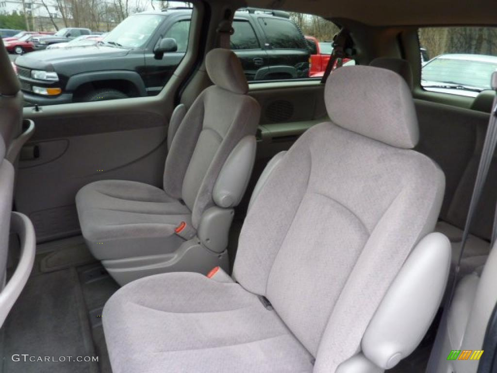 taupe interior 2001 chrysler town country lx photo 47405699