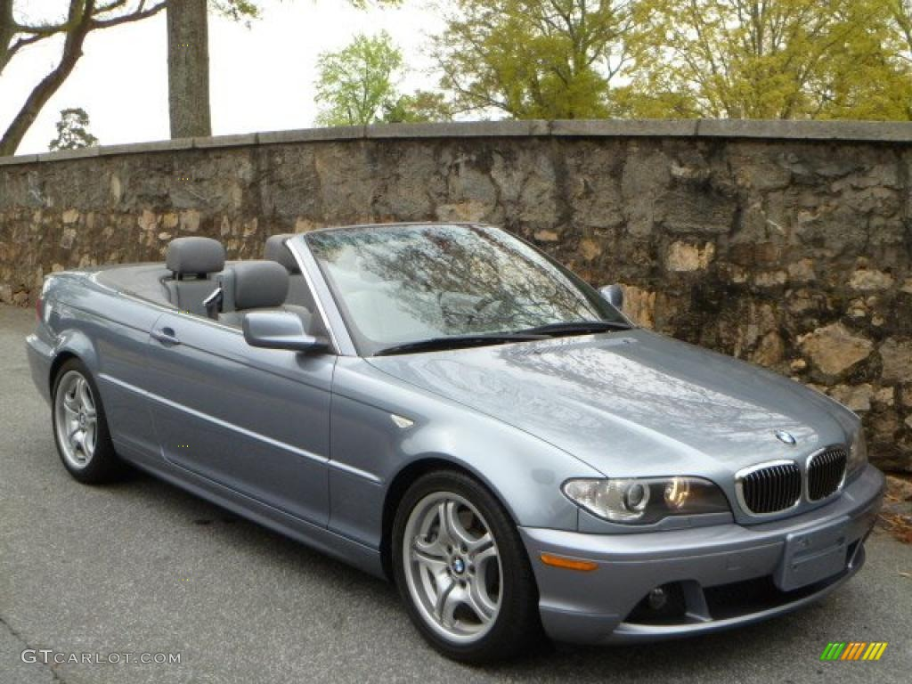 Quartz Blue Metallic BMW Series I Convertible - 2006 bmw convertible