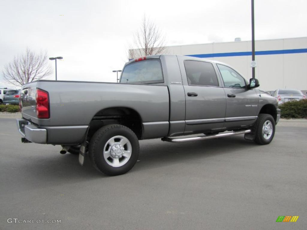 Mineral Gray Metallic 2007 Dodge Ram 1500 SLT Mega Cab 4x4 Exterior Photo #47414888