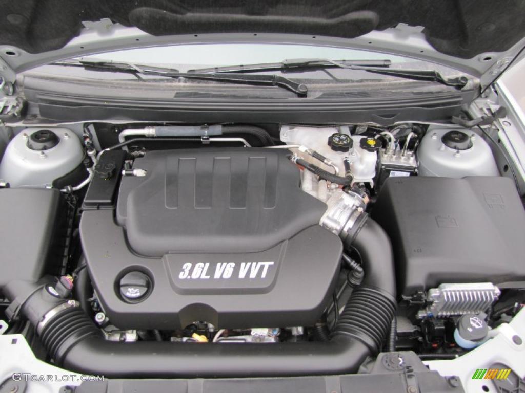 2009 Pontiac G6 Gxp Sedan 3 6 Liter Dohc 24 Valve Vvt V6