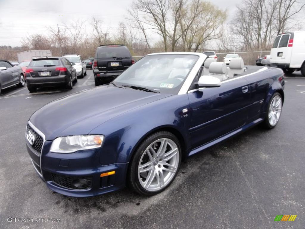2008 sprint blue pearl effect audi rs4 4 2 quattro convertible 47401816 photo 2. Black Bedroom Furniture Sets. Home Design Ideas